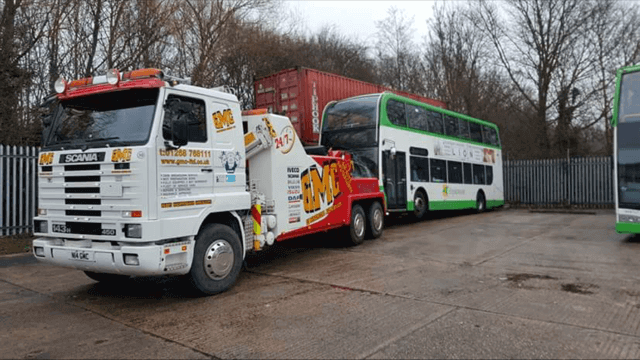 Double Decker bus recovery
