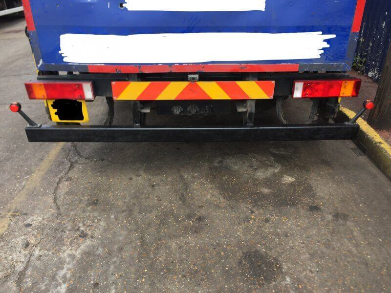 Lorry bumper repairs