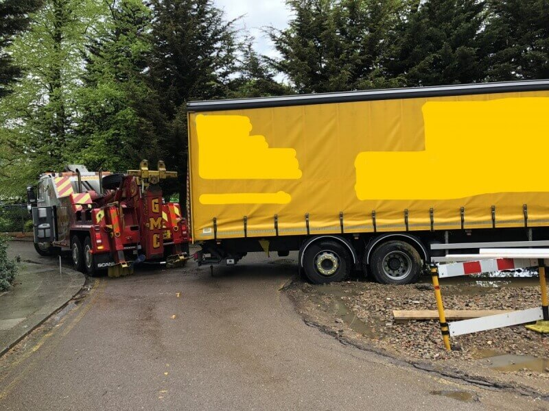Commercial vehicle recovery
